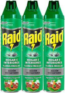 Pack insecticida raid