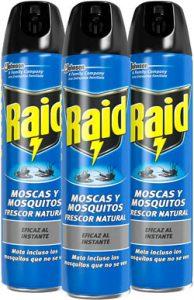 spray matamoscas raid